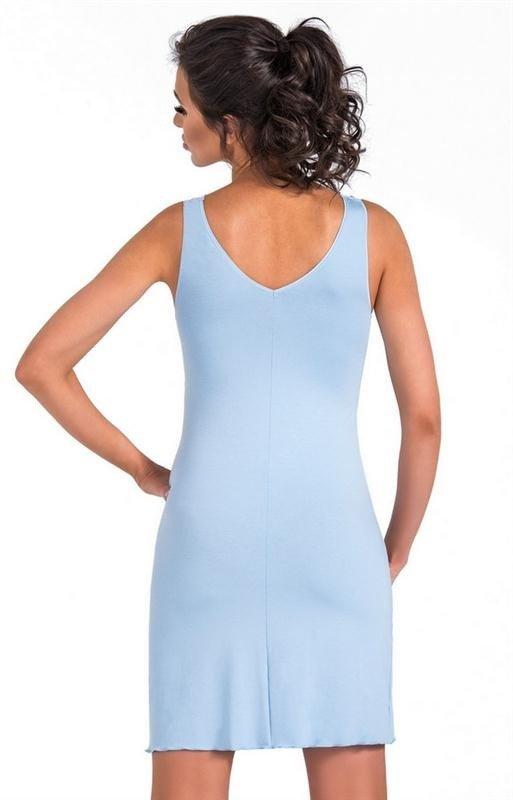 Koszula nocna damska Donna Irina błękitny | Hurtownia Tomix  0ECEC